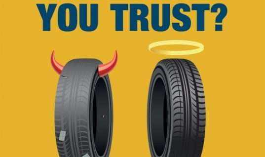 TyreSafe campaign warns danger of part worn