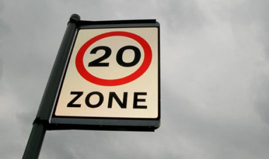 Casualties rise in 20 mph zones