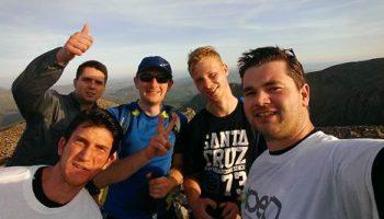 Delphi team scales 3 peaks for BEN