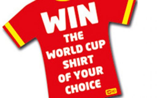 WIN a World Cup shirt with SIP!