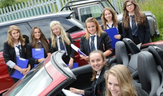 All girl team win IMI automotive competition