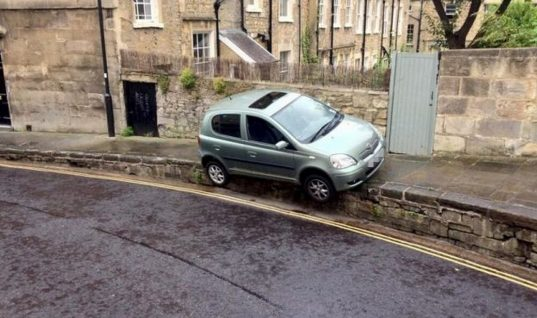 Britain's worst parking examples