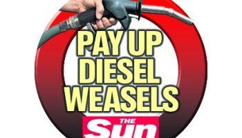 Sun newspaper calls for diesel scrappage