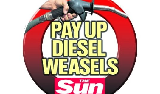Sun newspaper calls for diesel scrappage