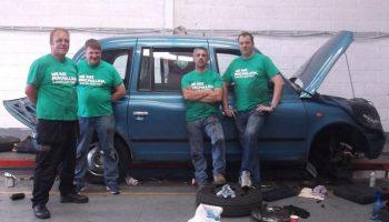 TerraClean enter Banger Rally for Macmillan