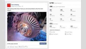 Facebook an essential tool say Apec Braking