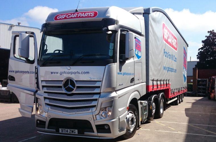 Gsf Car Parts Add New Mercedes Truck To Fleet Garagewire