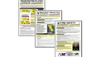 MOT Info Poster Pack – save 40%