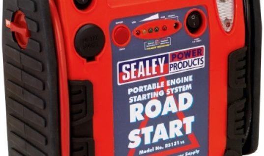 Sealey RoadStart Emergency Power Pack 12V 900 Peak Amps