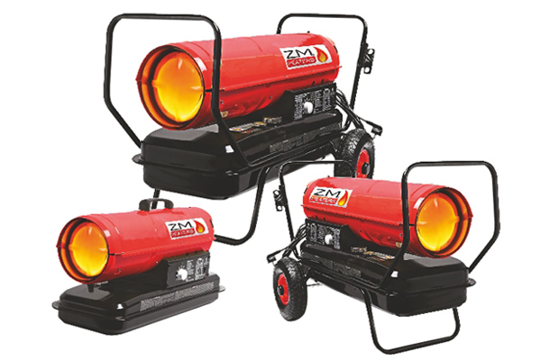 Portable Diesel Space Heaters From Gsf Car Parts Garagewire