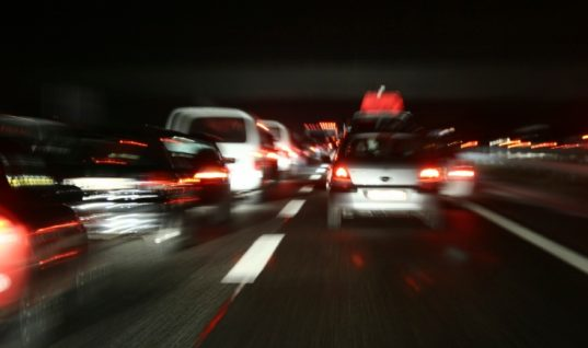 Drivers underestimating stopping distances