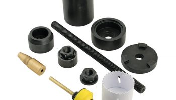 First Line fitting tool for sub-frame bushes