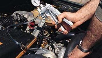 All-in-One Vacuum Pump, Brake Bleeder or Engine Test Kit