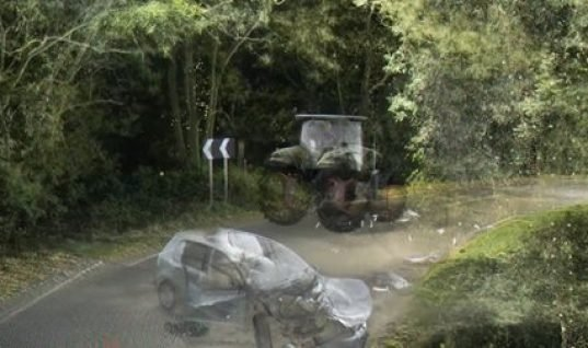 THINK! advise on country road dangers