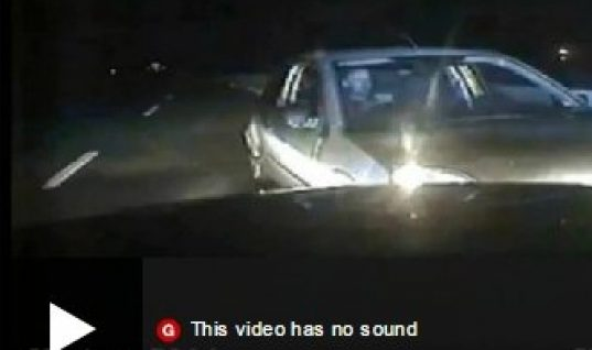 Video: 8 mile drive wrong-way on A1