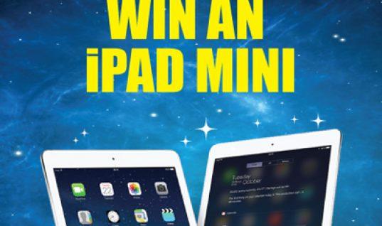 Win an iPad mini with GROUPAUTO
