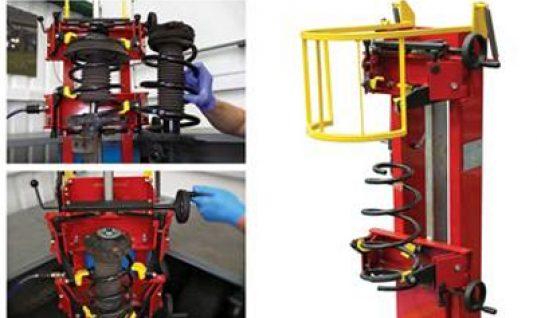 Video: new pneumatic coil spring compressor