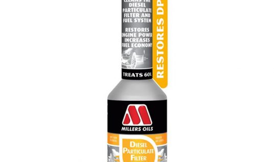 Millers' new'one shot' DPF solution