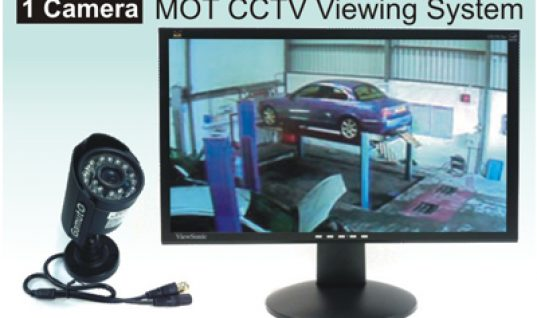 MOT CCTV Viewing System – 1 Camera