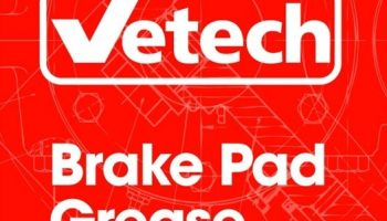 All Vetech brake pads now supplied with grease