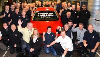 5 million Vauxhalls for Ellesmere Port