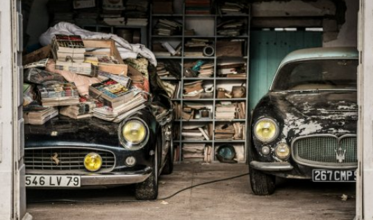 French barn find includes £10m Ferrari