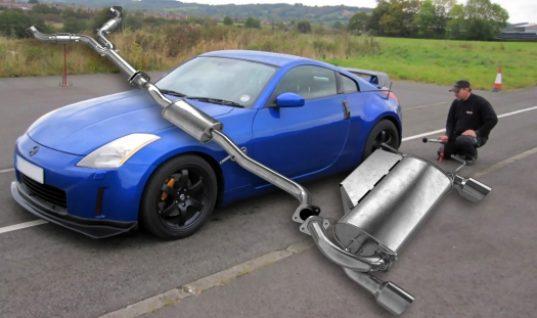 Klarius exhaust maintains Nissan 350Z performance