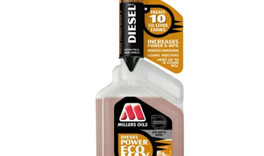 Millers Oils offers diesel owners reduced fuel cost