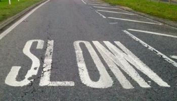 Confused motorists SLOM down
