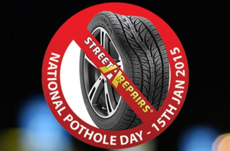 First National Pothole Day this week