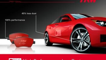 TRW's DTEC brake pads already in strong demand