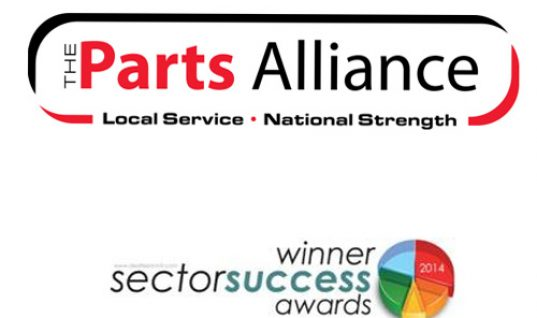 The Parts Alliance recognised in business awards