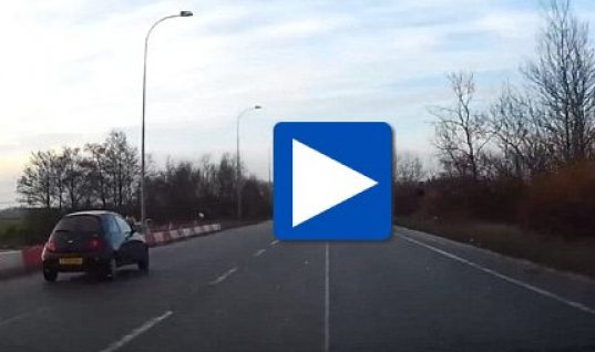 Video: Ford dealer caught doing 118mph in customer car