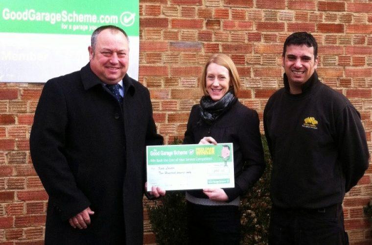 Mimram Service Centre customer wins Good Garage prize
