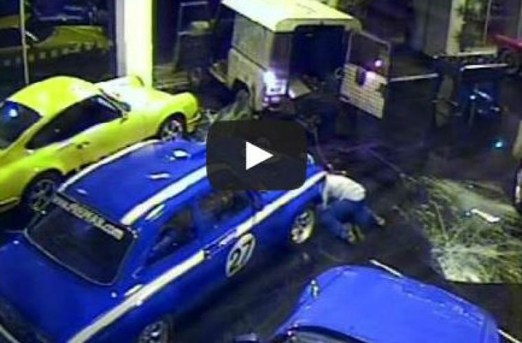 Video: £120k Escort Mexico stolen in ram raid