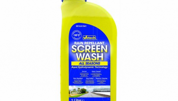 New Vetech premium screen wash from GSF