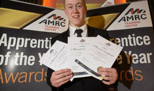Laser Tools employee named Apprentice of the Year