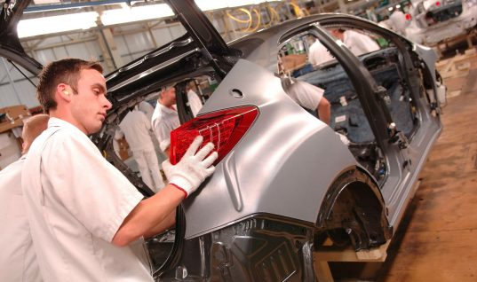 £1 billion investment for British car industry