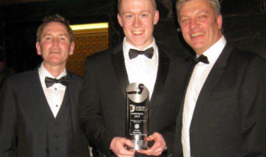 Eldon Tool celebrate apprentice award