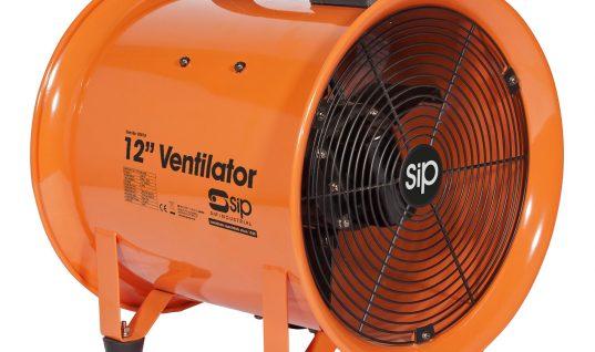 SIP workshop fans and ventilators