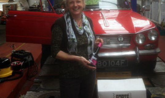 Caxton Hill Motors wins £250 of Forte products
