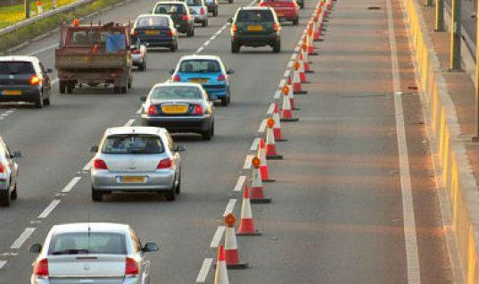 £1 billion a year lost in lane closures