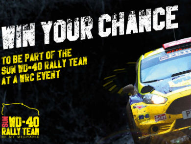 Win 163 500 And A Chance To Join The Sun Wd 40 Rally Team