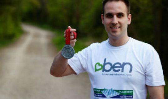 London marathon raises £5,000 for BEN