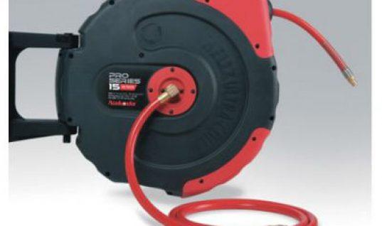 Air/water hose reel at Prosol UK