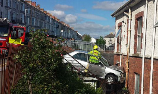 Newly qualified driver smashes into house after selecting wrong gear