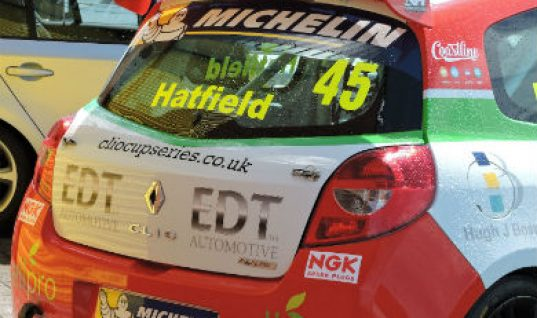 Clio Cup racer Adam Hatfield 'seriously impressed' with EDT