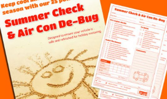Forte campaign encourages summer check assessment