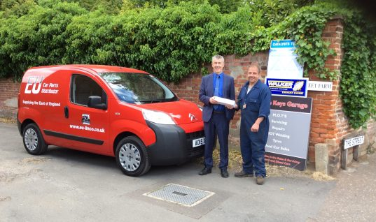 Tenneco announces the first winner of its Golden Spanner Promotion