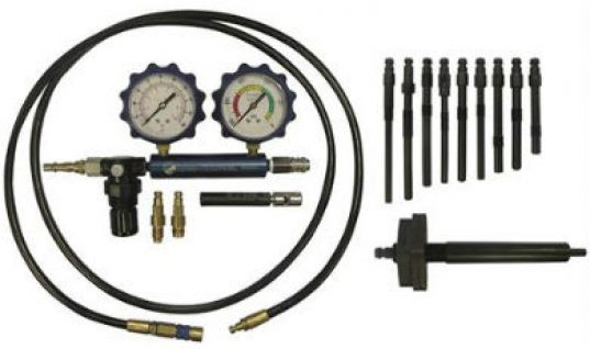 Petrol and diesel cylinder leakage tester kit from Sykes-Pickavant